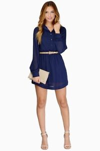 Brand New, Never Worn Tobi Countdown Shirt Dress XS