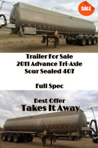 Trailer for sale   Goes to Best Offer
