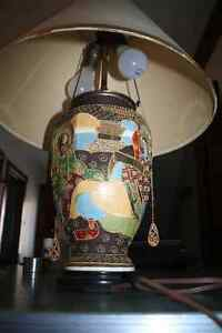 Beautiful Ornate Vintage Asian-inspired Desk Lamp Kitchener / Waterloo Kitchener Area image 2