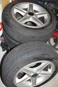 Used Volvo V70-98 Tires and Rims - Set of 4 London Ontario image 3
