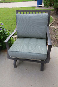 Set of 5 outdoor motion rocker chairs MUST SELL Moose Jaw Regina Area image 1