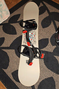 Snowboard - 54 Inches - Light Gray