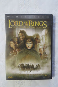 """""""Lord of the Rings...The Fellowship of the Ring""""...on DVD"""