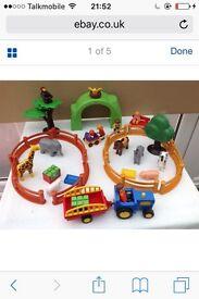 Playmobil 123 play set zoo