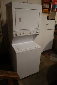 Frigidaire stacked washer and gas dryer working condition Kitchener / Waterloo Kitchener Area image 1