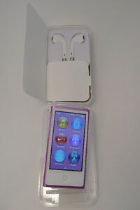 iPod nano (7th gen) 16GB, Anodized Pink, w/Cable, & New EarPods London Ontario image 1