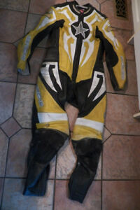 Motor Cycle Leather Racing Suit