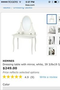 Dressing Table Vanity with Mirror