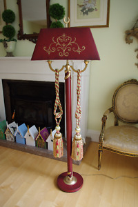 5 ft Floor Lamp fitted with 2 Led Bulbs