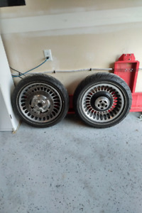 ABS Touring Wheels & Tires fits 2009 and newer ex cond