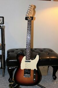 FENDER telecaster USA mint CONDITION +Hard CASE