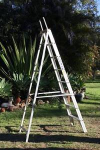 BAILEY 2.4 M ASTRON 8 STEP LADDER one sided good condition Grafton Clarence Valley Preview