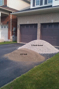 GRAVEL,CRUSHED STONE,SAND,TOPSOIL,SCREENINGS, DELIVERY IN BARRIE