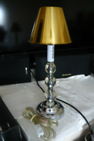 A Stylish TABLE /BEDSIDE Lamp with new metal shade