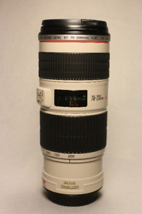 Canon 70-200mm F4 L IS Lens