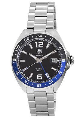 New Tag Heuer Formula 1 Automatic GMT Black Dial Men's Watch WAZ211A.BA0875