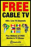iSwitchTV Cable TV - Make up to $100 commission per sale