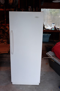 Woods upright freezer