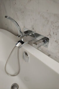 Bathtub Faucet - Riobel SA07 Wall-Mounted Thermostatic Faucet