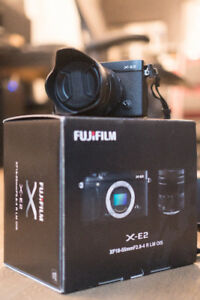 Fujifilm X-E2 XE-2 with XF18-55mmF2.8-4 R LM OIS Lens