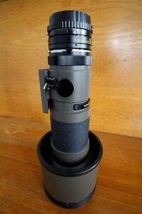Lentille photo 400mm, F/4, manuelle