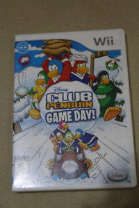 Wii Club Penguin Game Day Disney Game Disc