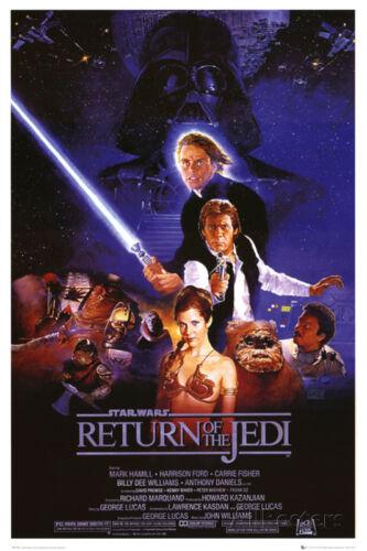 Star Wars Episode VI Return of The Jedi Movie Poster - 24x36