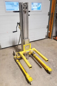 12' Sumner Material Lift for Sale! (Used)