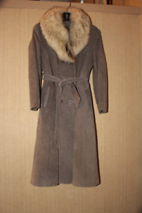 Olde Hyde House  suede coat