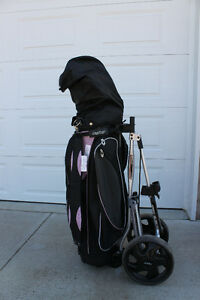 Womans'  right hand Golf set
