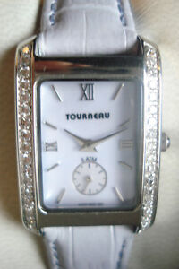 Tourneau Diamond Bezel Quartz Ladies Watch