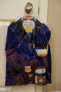 Melissa & Doug Police Officer Role Play Costume-brand new