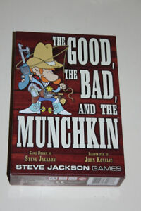 Jeux de carte Munchkin: The good, the bad and the Munchkin