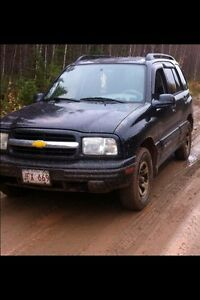 2003 Chev tracker SOLD
