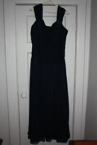 A JS Collection Gown in Midnight Navy