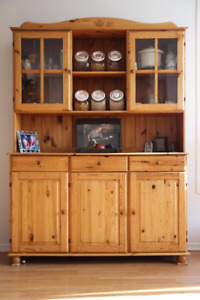 IKEA cabinet - Dining room Hutch