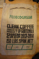 2 Large Coffee Sacks - Coffee Costa Rica - Frattello
