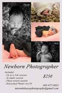 Free addition session when you book a new born session