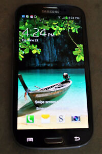 Samsung Galaxy S3 Iphone 16GB locked to Rogers w/OtterBox Case
