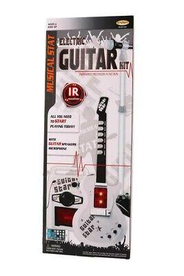 Guitarra Eléctrica y Micrófono Infantil - 18-492 JUGUETOON