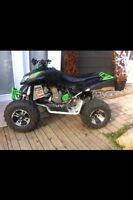 Trade race quad for a gas powered welder