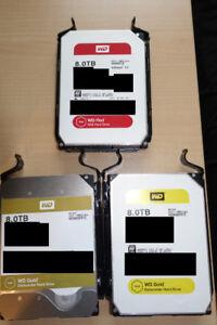8TB Western Digital HDD - 2 Available