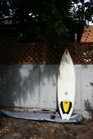 "Surfboard Ocean Gear 6'6"" shorty by Eric Zucker"
