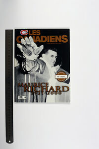 Les Canadiens Magazine Hockey Maurice Richard 1921-2000 Limited