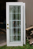EXTERIOR DOUBLE ENTRY DOORS