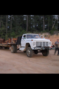 Looking for an older four wheel drive grain truck
