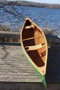 Chestnut 14' Solo Cedar Strip Canoe