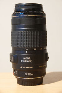 Objectif Canon EF 70-300 mm 1.4-5.6 IS USM