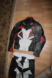 Street Bike Racing Suit and Boots