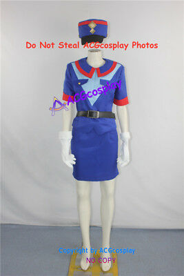 Pokemon Adventures Officer Jenny cosplay costume include hat